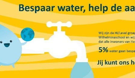 Waterproject Wilhelminaschool